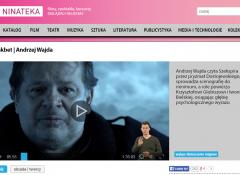 Powiększ obraz: widok z www.ninateka.pl z zatrzymanym kadrem ze spektaklu Makbet z PJM