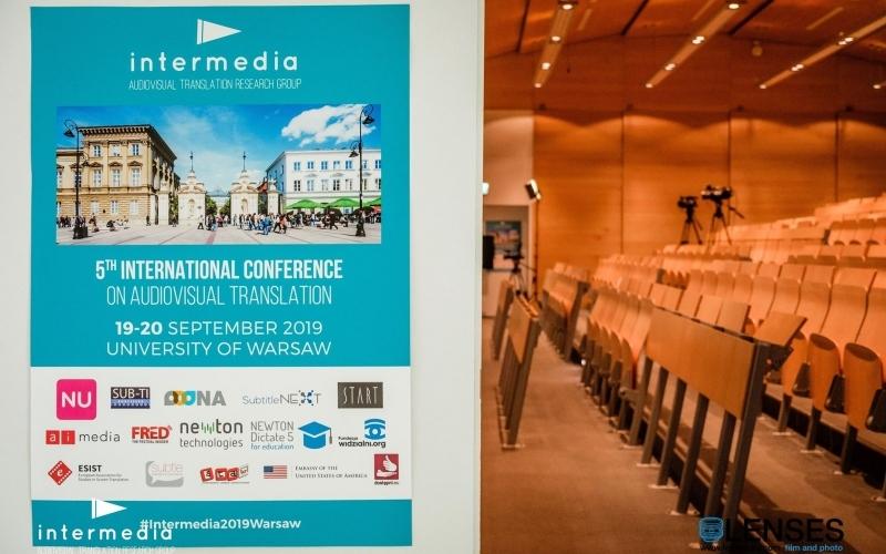 Plakat konferencji Intermedia